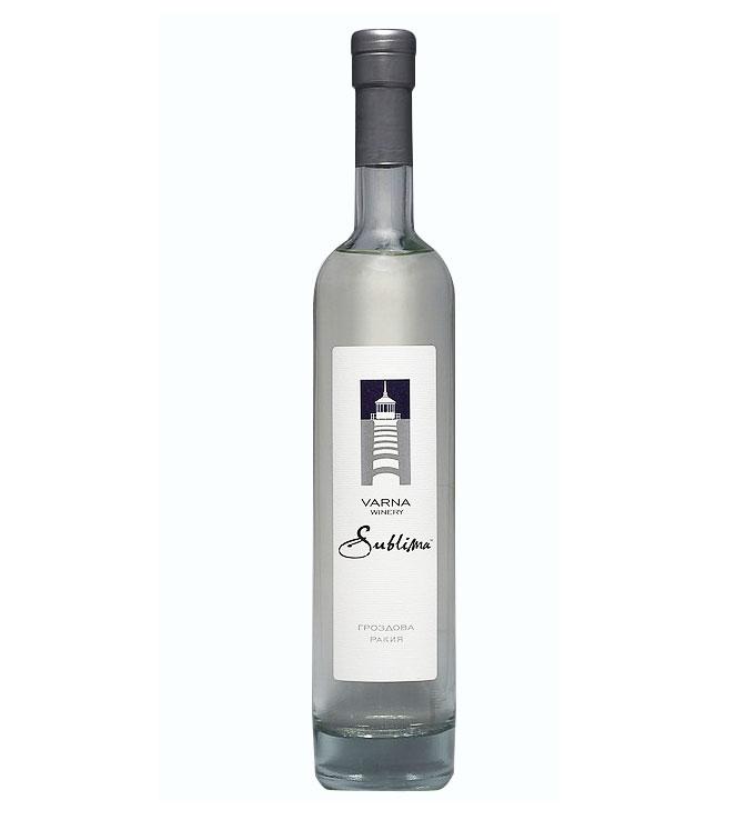 Rakia Sublima Grape Brandy Varna Winery